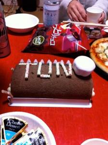 まさかの誕生日ケーキ