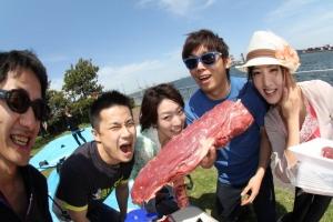 曙ふ頭公園BBQ