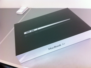 MacBookAir 箱