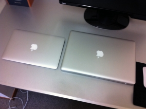 MacBookProとMacBookAir