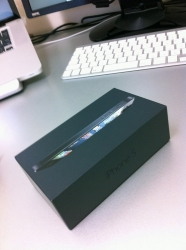 iPhone5::Softbank版黒
