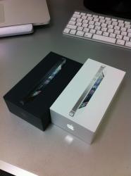 iPhone5:黒と白2