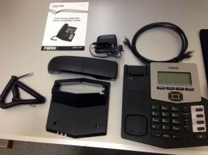 SIP対応 IP電話機 C56 内容物