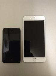 iPhone4とiPhone6を比較