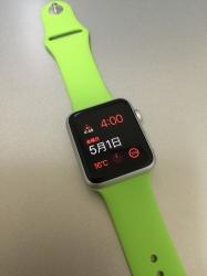 AppleWatch スポーツ グリーン