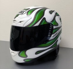 ヘルメット カスタムペイントの完成
