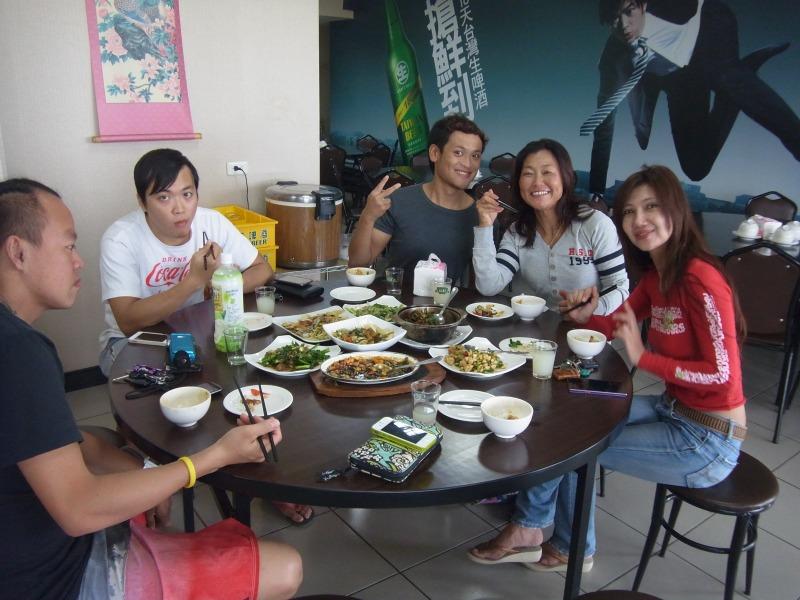 台湾のローカルとランチ