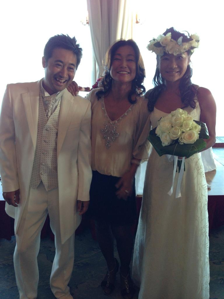 のりちゃん結婚式1