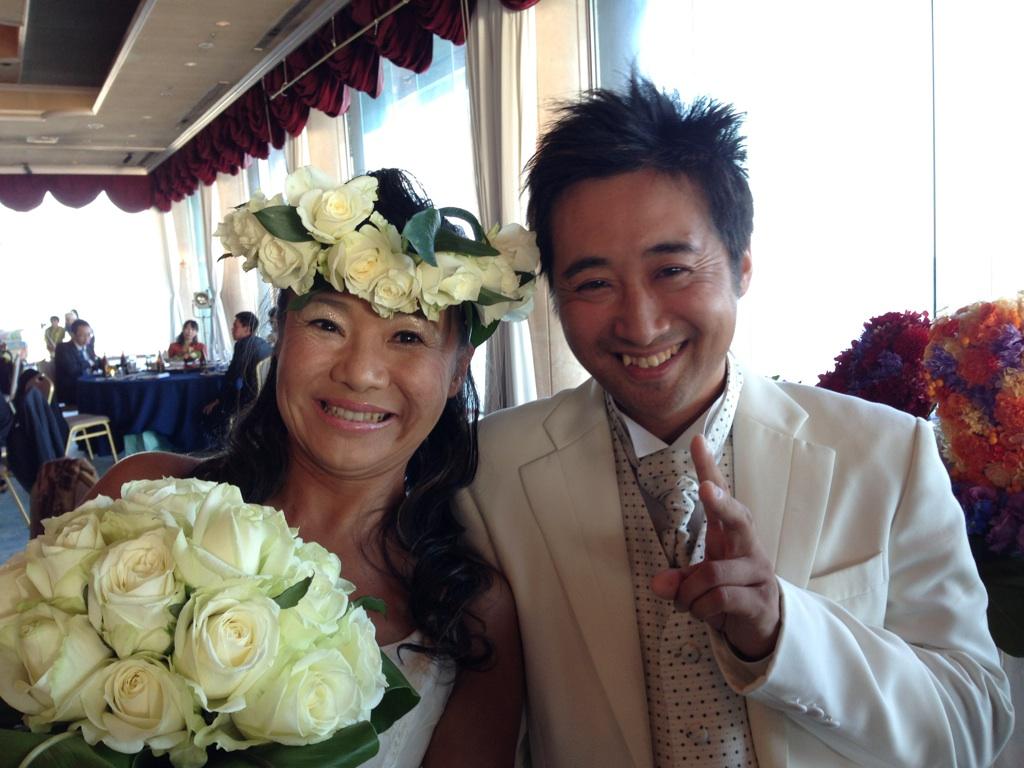 のりちゃん結婚式2