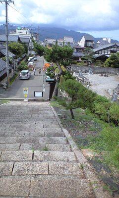 常光寺(上からの風景)