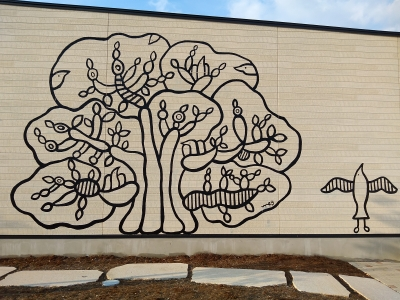 村上めぐみさんの壁画