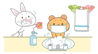 マスクと手洗い