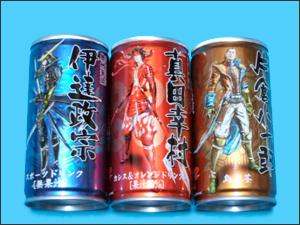 戦国BASARA缶ジュース