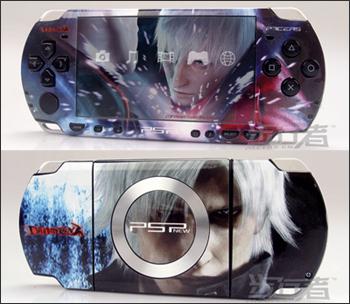 デビルメイクライ PSP プロテクタースキン