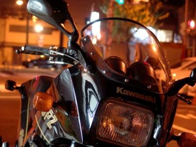 夜の撮影GPZ