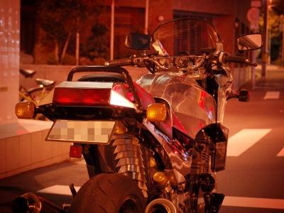 バイクを出す