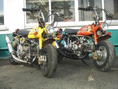 Z2台とモンキー2台