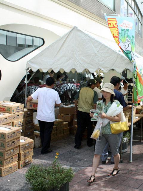 京橋大根河岸生誕350年記念事業第4回の様子2