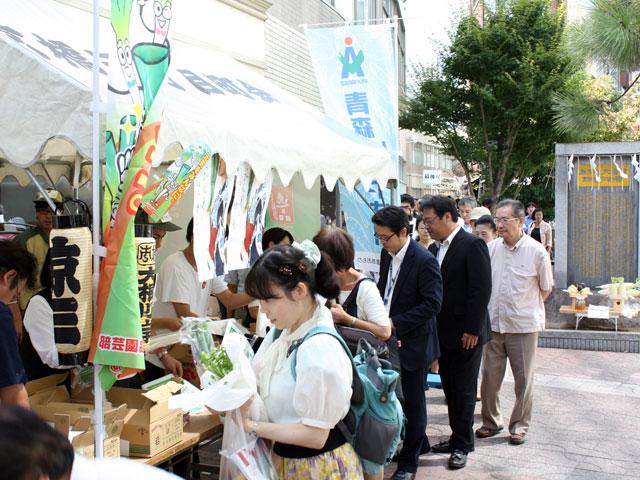 京橋大根河岸生誕350年記念事業第4回の様子4