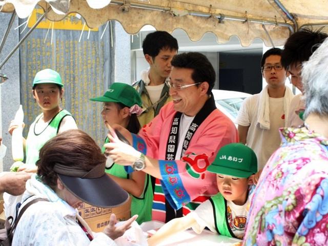 高知県園芸連東京事務所-平山所長