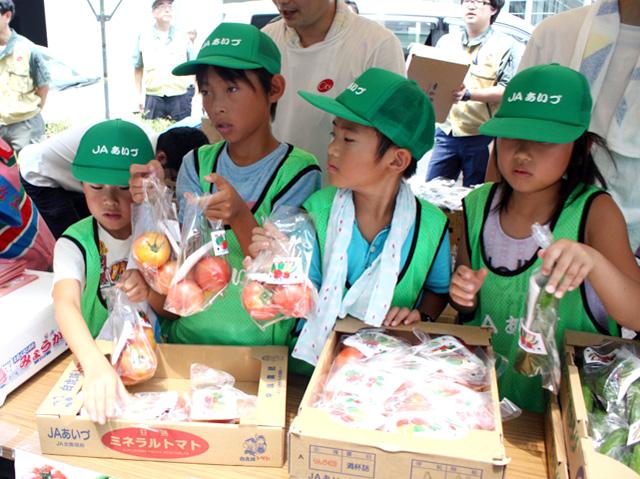 会津の小学生応援05