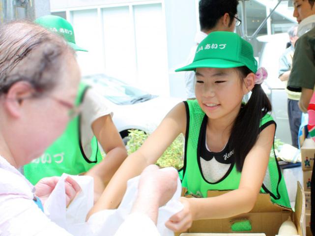 会津の小学生応援07