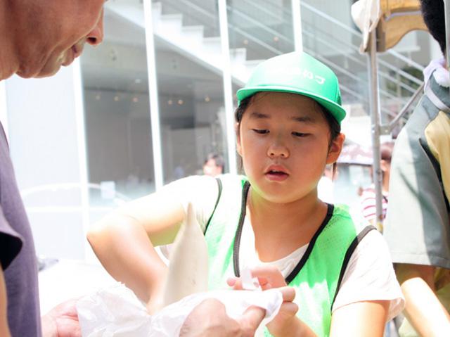 会津の小学生応援08