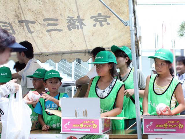 会津の小学生応援09