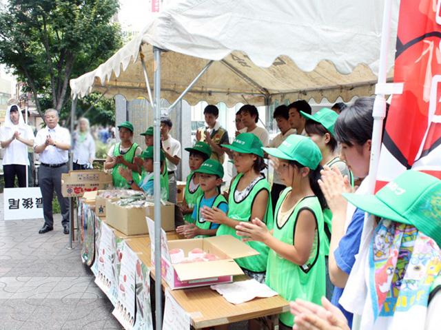 会津の小学生応援11
