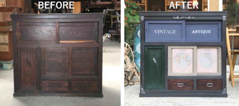 和家具の塗り替え