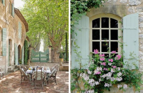 南仏プロヴァンスの窓や鎧戸
