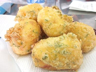 新馬鈴薯のオランダ揚げ