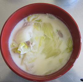 白菜と豚バラ肉クリーム煮