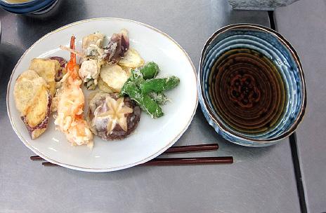 海老・鮎の天ぷら