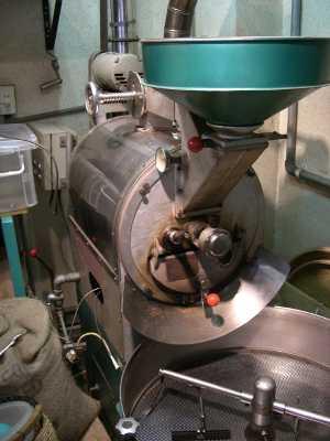 直火型焙煎機8kg用の画像
