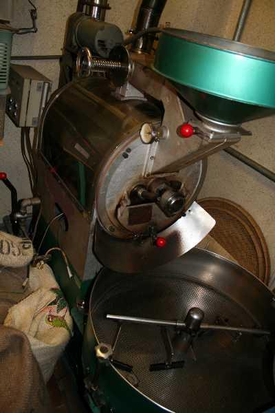 焙煎機の画像