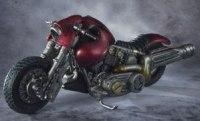 レッドハカイダーバイク