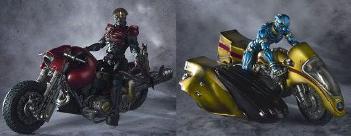 バイクにハカイダーを搭載可能!