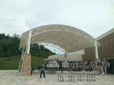 大型屋根テント