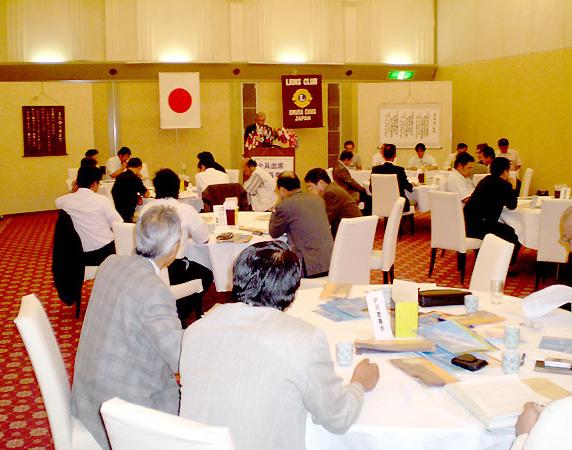 今年度から例会場になった長崎インターナショナルホテル
