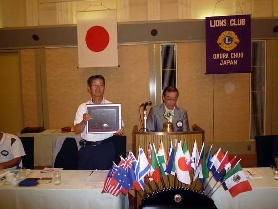 日本赤十字社より銀色有功章を授章