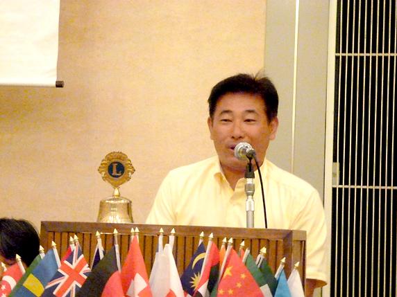 教育YE・LCIF委員会委員長 L久米昭司