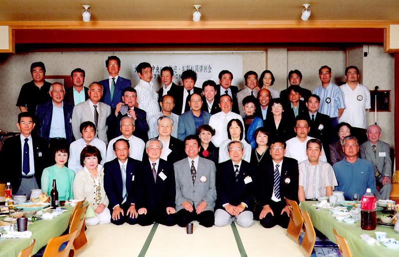 大阪梅田中央LC歓迎例会、お別れ同伴例会 平成20年5月20日