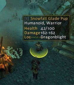 Snowfall Glade Pup