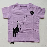 ネコTシャツ 90
