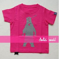 クマクマTシャツ 90