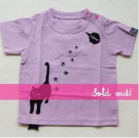 ネコTシャツ 80