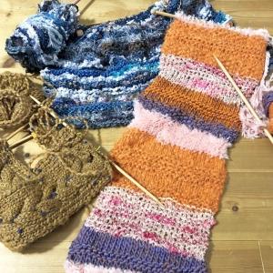 編みかけコレクション