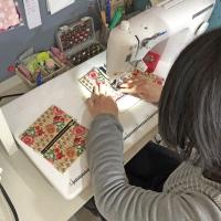 春の手作り雑貨展@Norinoriビルジング フリーデコワークショップ