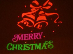 間違いなくクリスマスの夜空ですわね